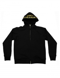 Felpa nera Mastermind X A-Girl's con zip SW88-05-BLK order online