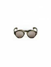 PAUL EASTERLIN BICOLOR SCRATCHED SUNGLASSES woody corno order online
