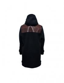 Cy Choi black coat