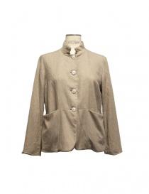 Womens suit jackets online: Casey Casey beige jacket