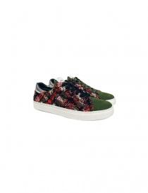 Yoshio Kubo green sneakers YKF15916-KHA order online