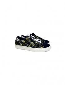 Sneaker Yoshio Kubo colore blu YKF15916-NAV order online