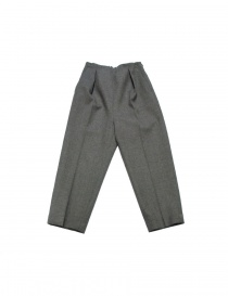 FadThree grey trousers 12FDF02-24-0 order online