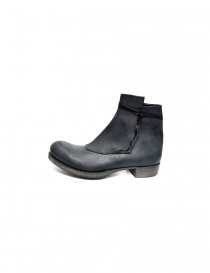 Ematyte dark grey leather ankle boots