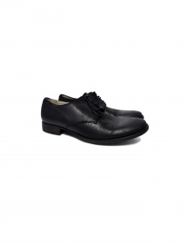 Scarpa in pelle nera Tre Chiodi BU1500 0532 order online