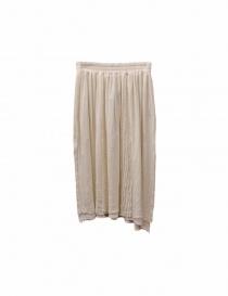 Vlas Blomme ivory skirt 125027 OFF 0 order online