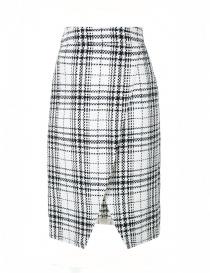 Fad Three checked wrap skirt online