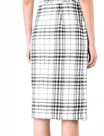 Fad Three checked wrap skirt