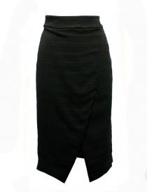 Fad Three black sheath skirt online