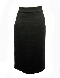 Fad Three black sheath skirt