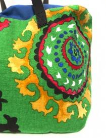 Saisei green canvas bag