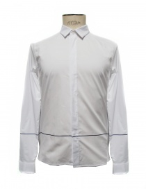 Camicia bianca in cotone Cy Choi CA65S02AWH00 order online