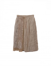 Vlas Blomme beige skirt 135045 ANTIQ order online