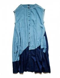 Womens dresses online: Indigo cotton Kapital dress