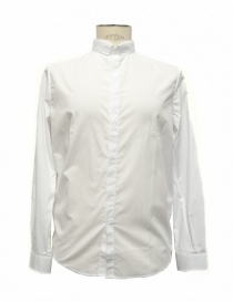 Camicia bianca smoking Golden Goose G28MP523 A4 order online