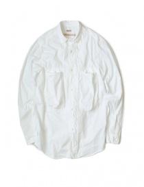 Camicie uomo online: Camicia bianca in cotone Kapital