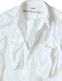 Camicia bianca in cotone Kapital