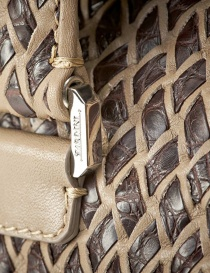 Alligator leather Tardini bag