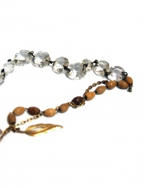 Crystal and Antique Devrandecic necklace
