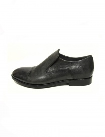 Measponte grey leather shoes