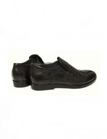 Measponte dark brown leather shoes