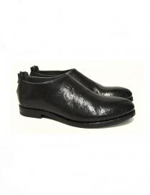 Measponte black leather shoes RI60001-BUFA order online