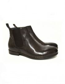 Measponte dark brown leather ankle boots RI69014-BUFA order online