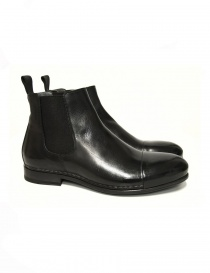 Measponte black leather ankle boots RI69014-BUFA order online