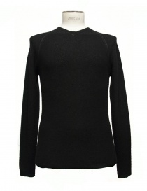 Mens knitwear online: Label Under Construction Zipped Seams Yardstick sweater