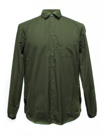 Camicia OAMC colore verde militare I022288-GREE order online