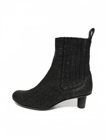 Barny Nakhle black leather ankle boots