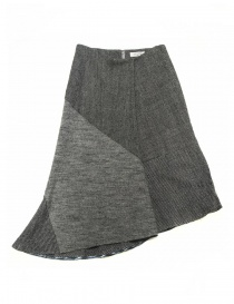 Fadthree grey asymmetric skirt 14FDF01-01-2 order online