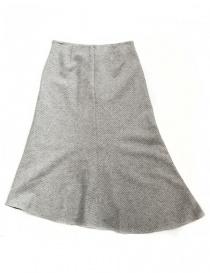Fadthree light grey asymmetric skirt