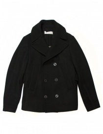 Mens coats online: Golden Goose Ian black coat