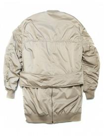 Fadthree padded jacket cream color