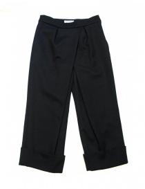 Pantaloni donna online: Pantalone Fadthree colore nero navy