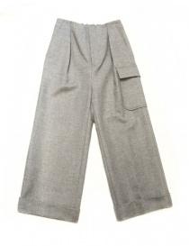 Pantaloni donna online: Pantalone Fadthree colore grigio chiaro