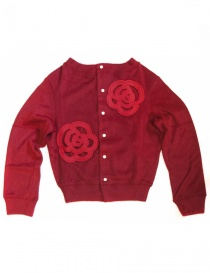 Cardigan rosso Miyao ML-B-05 RED order online
