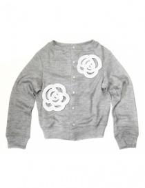 Cardigan donna online: Cardigan grigio Miyao