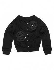 Miyao black cardigan ML-B-05-BLK- order online