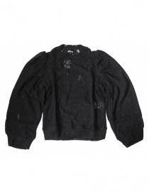 Miyao black sweater ML-B-10-BLK order online