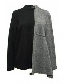 Fad Three black and grey sweater 14FDF07-042- order online