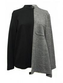 Maglieria donna online: Maglia Fad Three colore nero e grigio