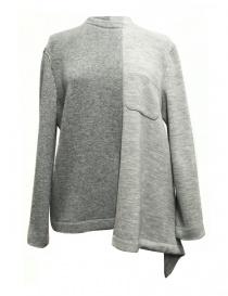 Fad Three grey sweater 14FDF07-04-1 order online