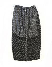 Miyao black polka skirt ML-S-02-BLK- order online