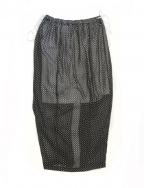 Miyao black polka skirt