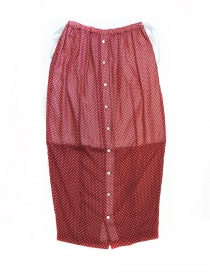 Miyao red polka skirt ML-S-02-RED- order online