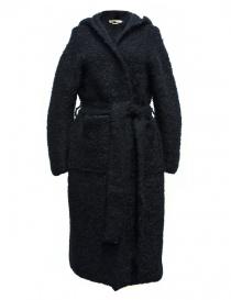 Cappotto IL by Saori Komatsu colore navy 408-31-CARDI order online