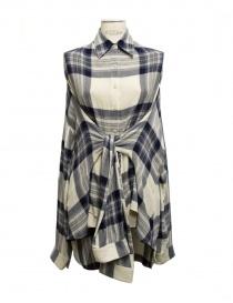 Womens shirts online: Fad Three checked shirt