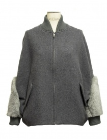 Womens suit jackets online: Miyao grey jacket